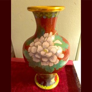 Other - Vintage cloisonné  jar